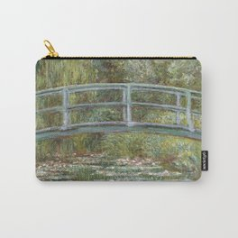Water Lily Pond (Japanese Bridge) Carry-All Pouch