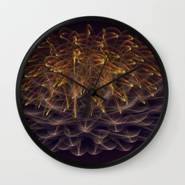 The Explosion Wall Clock