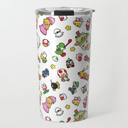 It's a really SUPER Mario pattern! Travel Mug