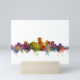 Richmond Virginia Skyline Mini Art Print