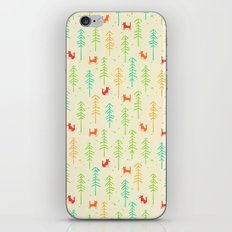 Foxes hiding in the forest iPhone & iPod Skin