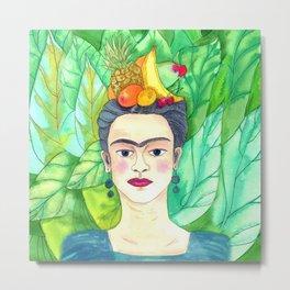 Chiquita Frida Metal Print