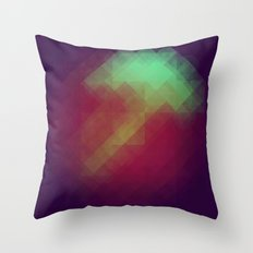Jelly Pixel Throw Pillow