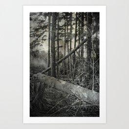 hunt Art Print
