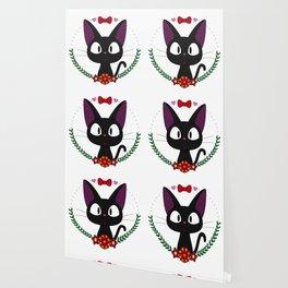 Little Black Cat Wallpaper