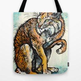 INKY LYNX Tote Bag
