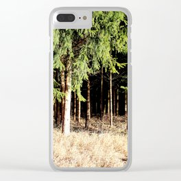 Germany Forest 1 Clear iPhone Case