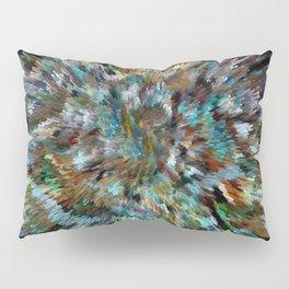 Desert Peacock Shag Pillow Sham
