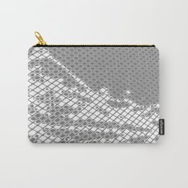 Screened Abstract Carry-All Pouch