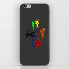 Anti-Colored Ninja iPhone & iPod Skin