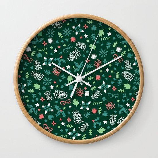 Have a Holly Jolly Christmas  Wall Clock