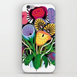 Yelapa Flowers iPhone Skin
