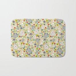 Cute Rabbit Pattern Bath Mat