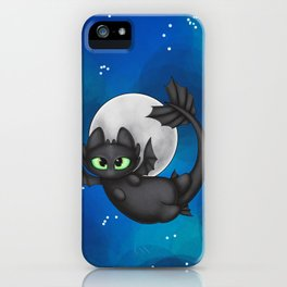 Tiny Toothless iPhone Case