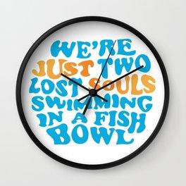 Floyd Pink - wish you were here Wall Clock