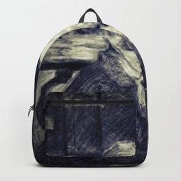 Portrait of Vincent Van Gogh by Toulouse Lautrec (Vintage) Backpack