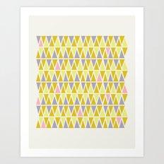 Lemon Sorbet Art Print