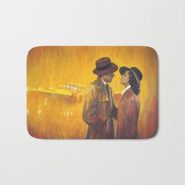 Casablanca film poster - The End Bath Mat