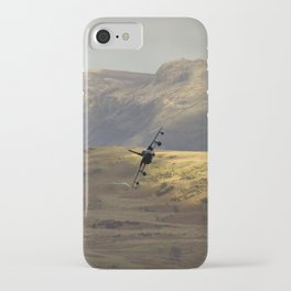 Flying over fields of gold iPhone Case