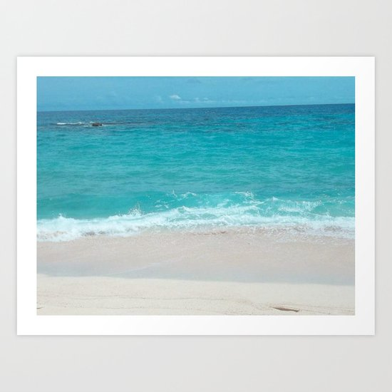 Bermuda Beach 1 Art Print