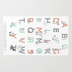 Animal Alphabet Rug