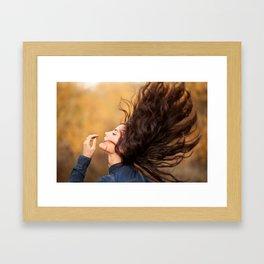 Heather - By JCasillas Photography - Murrieta, CA Photographer Framed Art Print