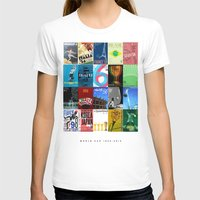 world cup T-shirts featuring World Cup: 1930-2014 by James Campbell Taylor