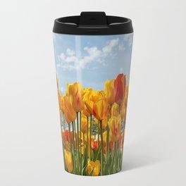 Spring Tulip Bloom Travel Mug