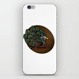 Mutant Zoo - Peacockroach iPhone Skin