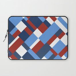 Map 45 Red White and Blue Laptop Sleeve