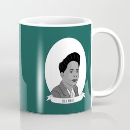 Ella Baker Illustrated Portrait Coffee Mug