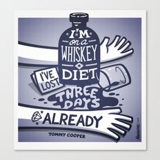 Whiskey Canvas Print