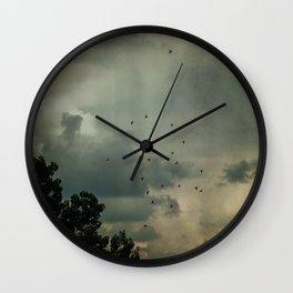 Flying Higher Wall Clock