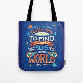 Same World Tote Bag