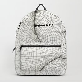 Fabric Circle Backpack