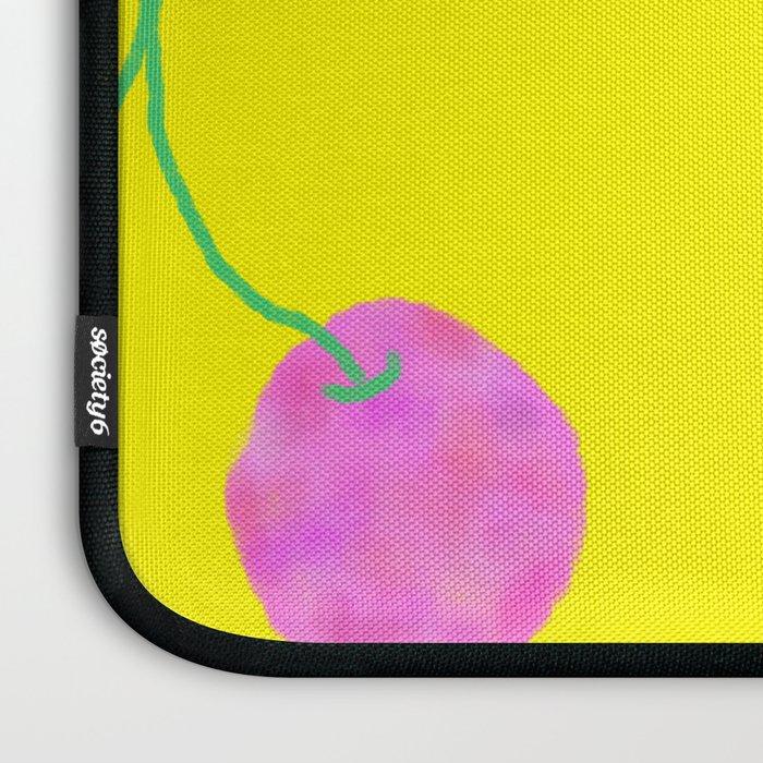 Words from Cherry - fruit love illustration wedding gift Laptop Sleeve