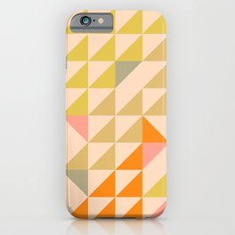 Mellow Triangles iPhone Case