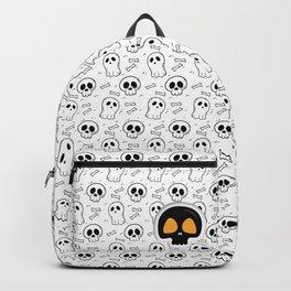 Halloween Skull Head Pattern Backpack