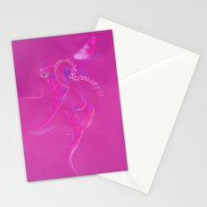 Bright Pink Octopus Stationery Cards