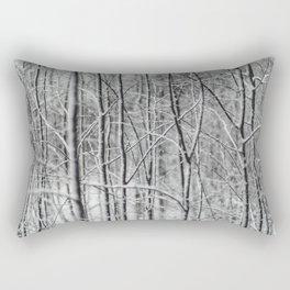 Winter gris Rectangular Pillow