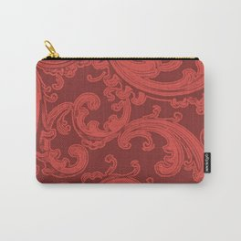 Retro Chic Swirl Grenadine Carry-All Pouch