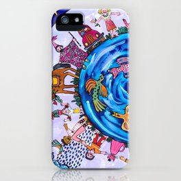 We are all one being iPhone Case