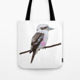 Kookaburra, Kingfisher Bird Tote Bag