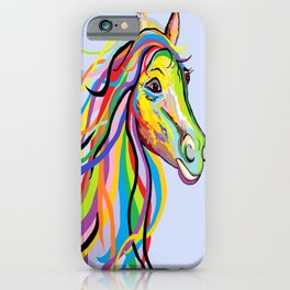 Horse of a Different Color iPhone Case