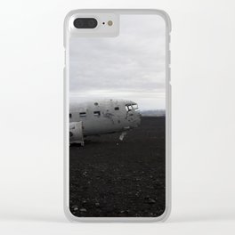 Tattered Front End Clear iPhone Case