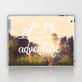 Go on an adventure Laptop & iPad Skin