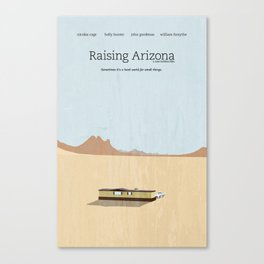 Film Friday No. 2, Raising Arizona Canvas Print