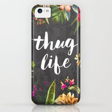 Thug Life iPhone 5c Slim Case