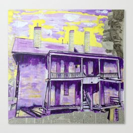 """""""Mill St. and Rebecca Ave."""" Canvas Print"""