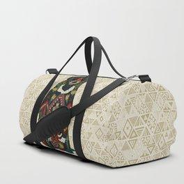 sun bear almond Duffle Bag